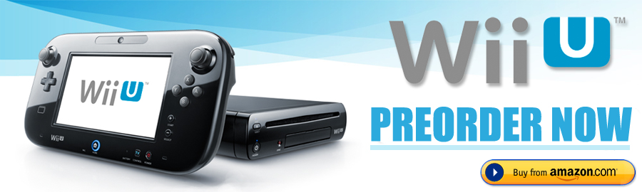 Preorder Wii U console from Amazon UK.